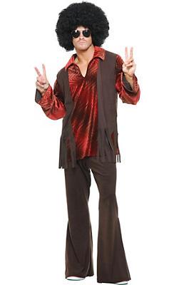 Adult Haight Ashbury Hippie Costume