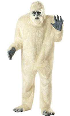 Adult Abominable Snowman Costume Plus Size