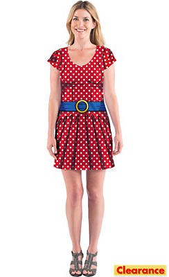 Adult Cartoon T-Shirt Dress
