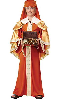 Boys Gaspar of India Costume - Three Wise Men
