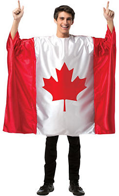 Adult Canadian Flag Tunic