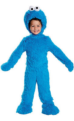 Baby Cookie Monster Costume Deluxe - Sesame Street