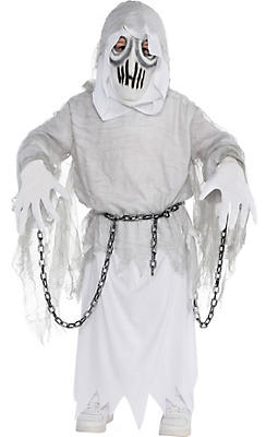 Boys Creepy Spirit Ghost Costume