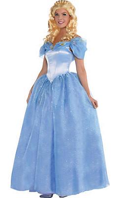 Adult Cinderella Costume - Cinderella 2015 Live Action