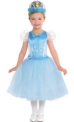 Toddler Girls Cinderella Costume Premier