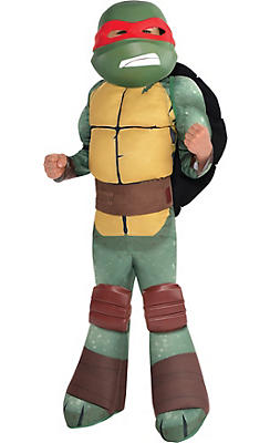 Little Boys Raphael Muscle Costume - Teenage Mutant Ninja Turtles
