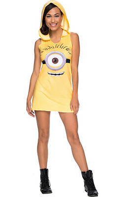 Minion Hooded Tank Dress - Minions Movie