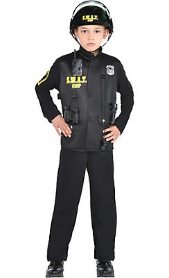Toddler Boys SWAT Cop Costume