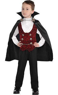 Toddler Boys Dark Vampire Costume
