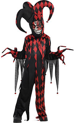 Little Boys Krazed Jester Costume