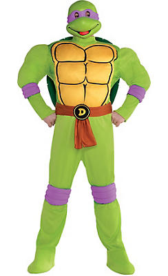 Adult Donatello Muscle Costume Plus Size - Teenage Mutant Ninja Turtles