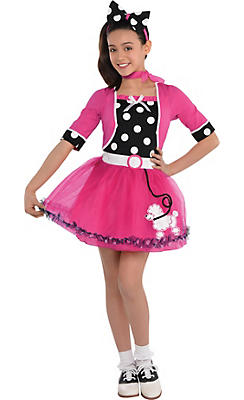 Girls Doo Wop Darling Costume
