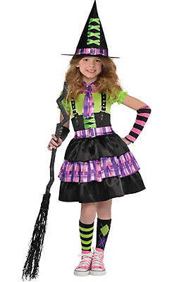 Toddler Girls Spellbound Witch Costume