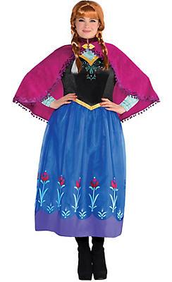 Adult Anna Costume Plus Size - Frozen