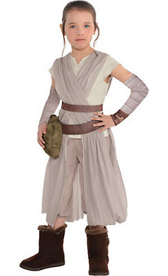 Little Girls Rey Costume - Star Wars 7 The Force Awakens