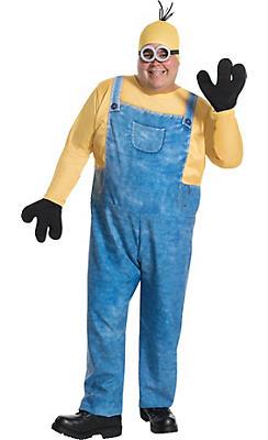 Adult Kevin Minion Costume Plus Size - Minions