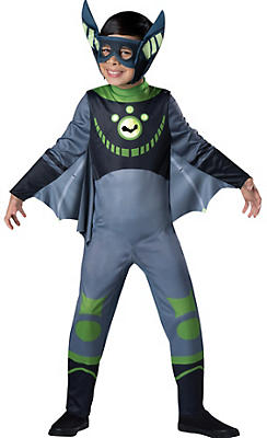 Boys Green Bat Costume - Wild Kratts