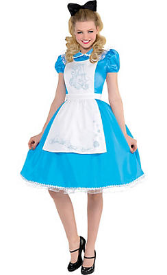 Adult Alice in Wonderland Costume - Alice in Wonderland
