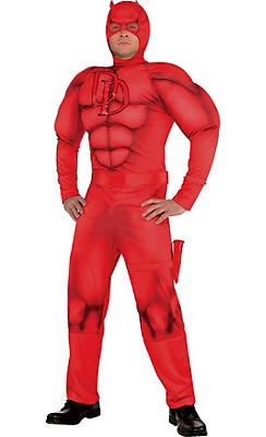 Adult Daredevil Muscle Costume