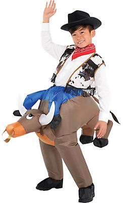 Boys Inflatable Bull Costume