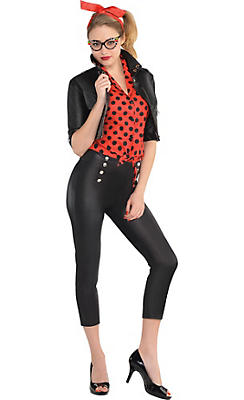 Adult Rebel Rockabilly Costume