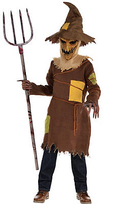Boys Scary Scarecrow Costume