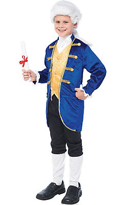 Boys Aristocrat Colonial Costume
