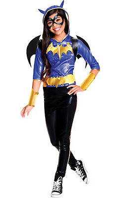 Girls Batgirl Costume - DC Super Hero Girls