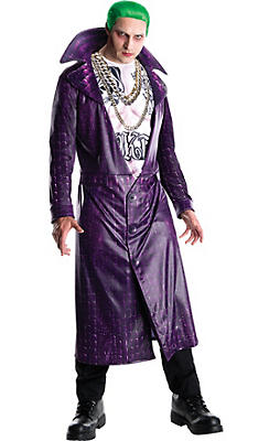 Adult Joker Costume - Suicide Squad