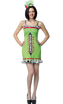 Adult Wrigley's Doublemint Gum Costume