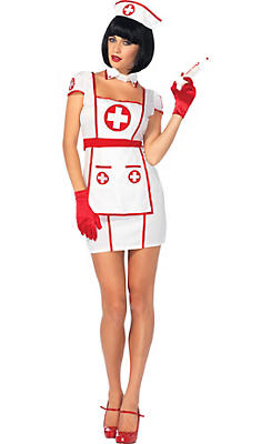 Adult Hospital Heartbreaker Nurse Costume