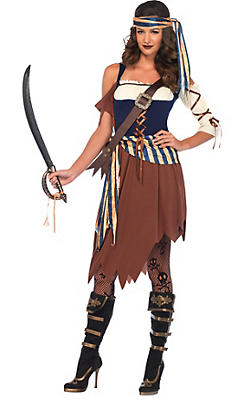 womens pirate costumes - Pirate Halloween Costumes Women