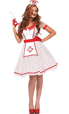 Adult Bedside Betty Nurse Costume