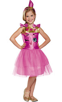 Girls Lippy Lips Costume - Shopkins
