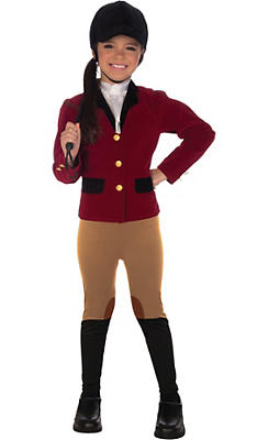 Girls Equestrian Costume