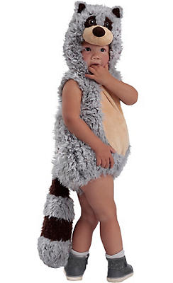 Baby Ryder Raccoon Costume