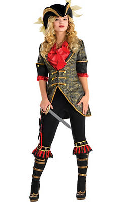 Adult High Seas Pirate Costume Deluxe