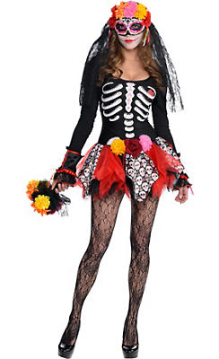 Adult Day of the Dead Costume Premier