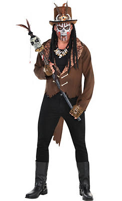 Adult Witch Doctor Costume Deluxe