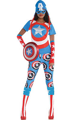 Adult American Dream Costume Deluxe Plus Size