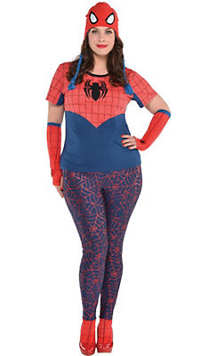 Adult Spider-Girl Costume Plus Size