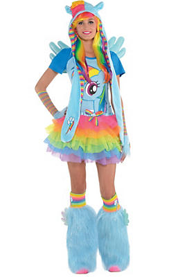 Adult Rainbow Dash Costume Premier - My Little Pony