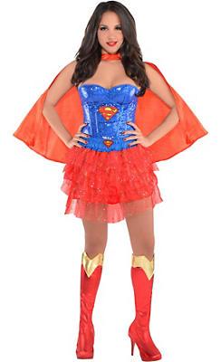 Adult Supergirl Costume Deluxe