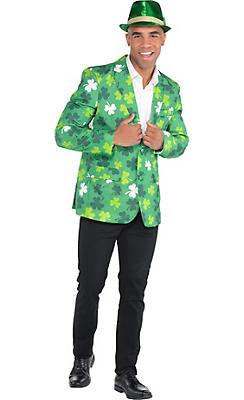 Adult Shamrock St. Patrick's Day Jacket Costume