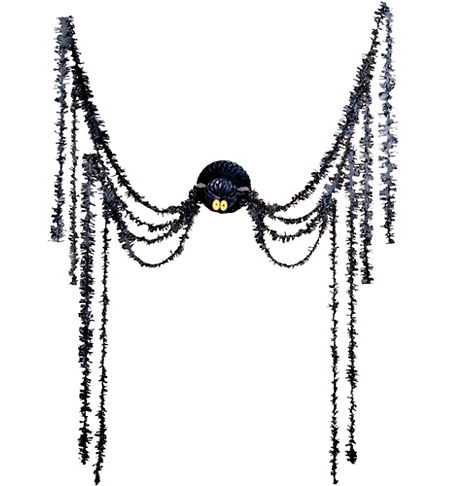 spider all in one party decoration 20ft paper tinsel ...