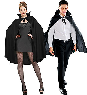Adult Black Cape Deluxe