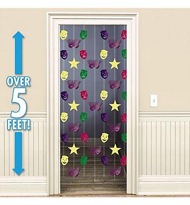 Mardi Gras Doorway Curtain