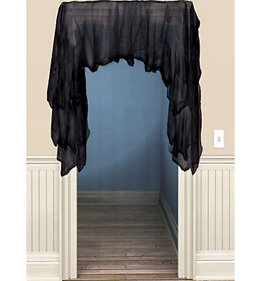 Black Gauze Draping 60in
