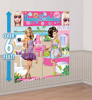 Barbie Scene Setters 5pc