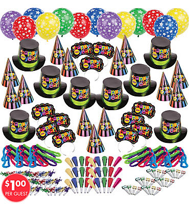Multi Bright Star New Years Party Kit For 300